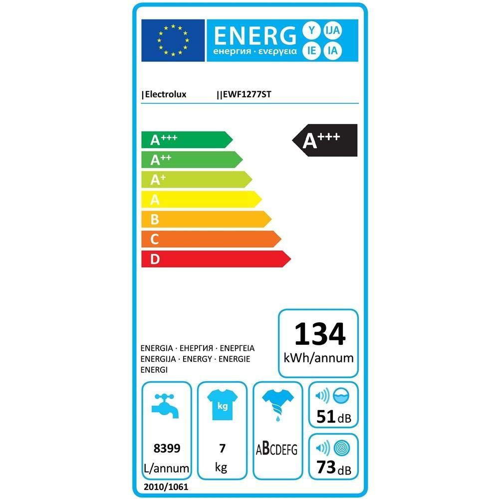 Electrolux EWF 1277 ST Independiente Carga frontal 7kg 1200RPM A ...