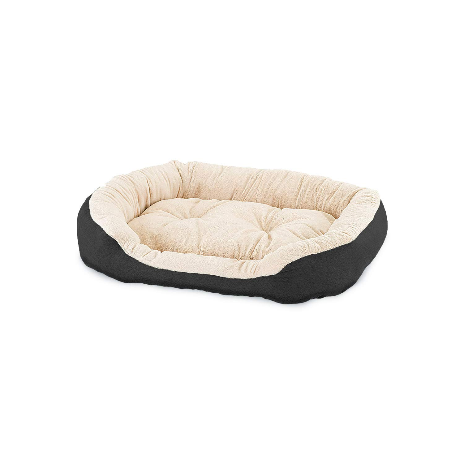 Black 31\ Black 31\ Ethical Pets Sleep Zone Step-in Pet Bed, 31-Inch, Black
