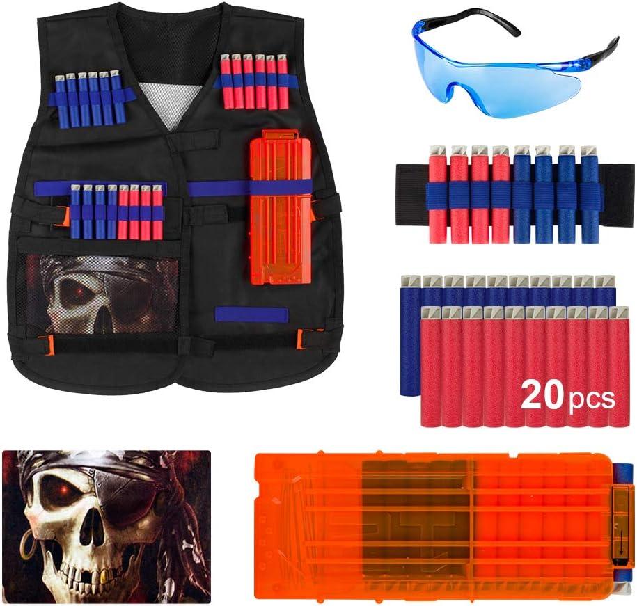 Tactical Vest Kit for Nerf Guns N-Strike Elite Series+ Tactical Waist band-by E-Starlet