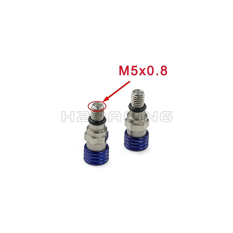 H2RACING M5x0.8mm Motorrad Entlü ftungsschraube fü r WR250R(DUAL SPORT)2008-2015 WR250X(SUPERMOTO)2008-2011 WR250/400F WR450F/WR250F YZ85/125/250 YZ400F/250F/450F TTR225/250/230