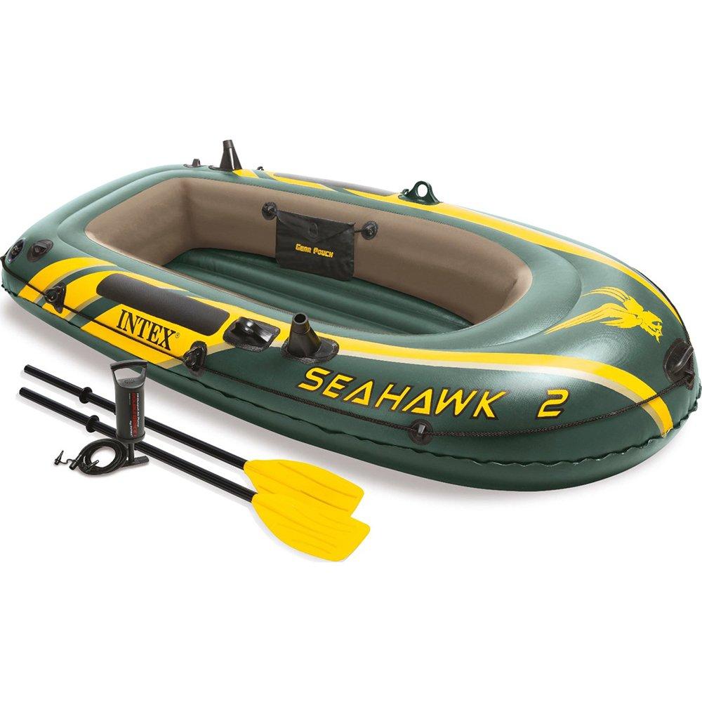 Amazon.com: Intex Seahawk - Juego de barco hinchable para 2 ...