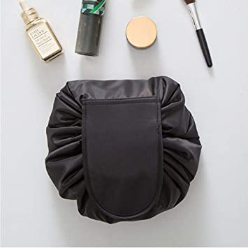 d1e6635a12f4 Westspark Travel Cosmetic Bags, Lazy Makeup Storage Bag Drawstring Large  Capacity Folding Toiletry...
