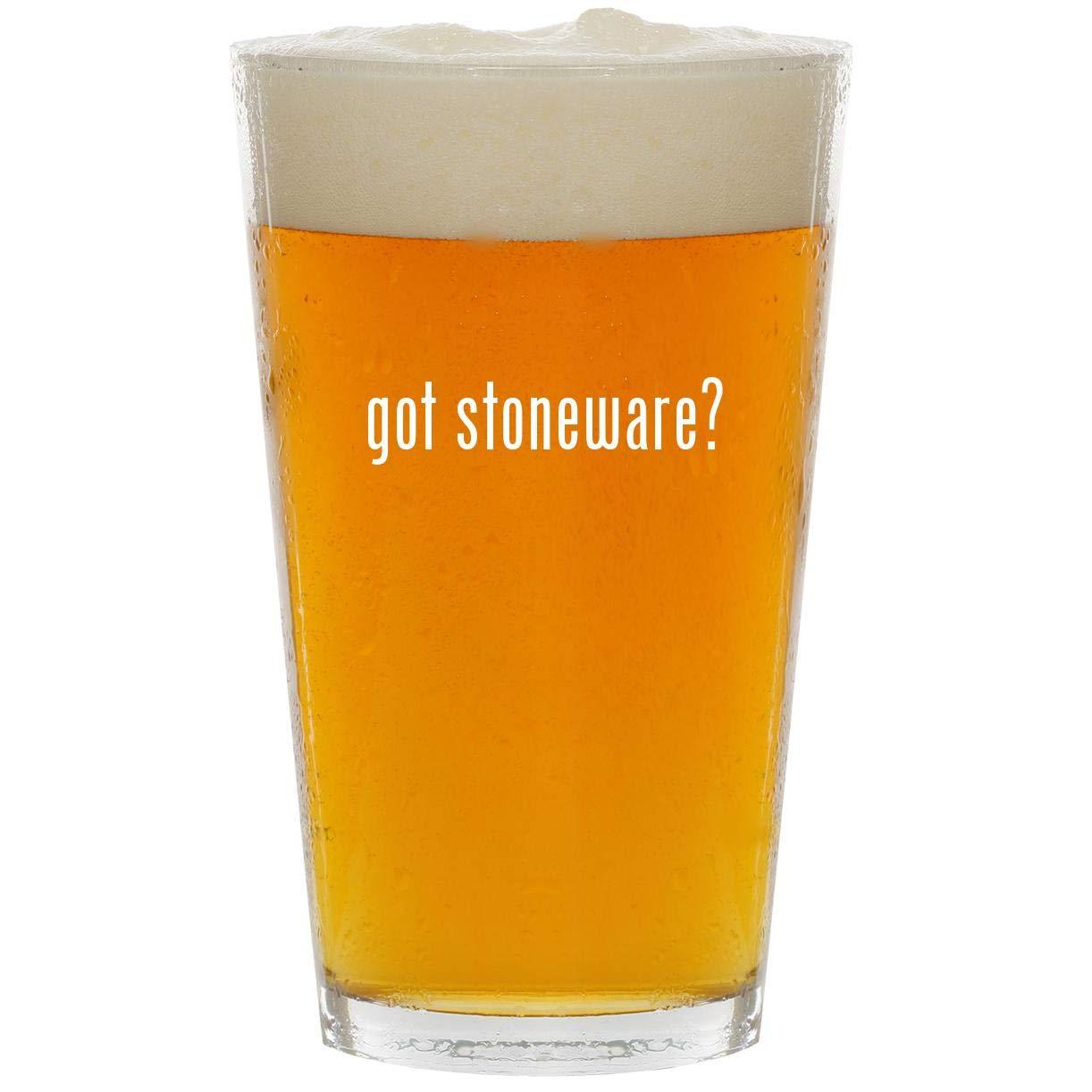 got stoneware? - Glass 16oz Beer Pint