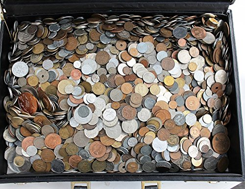 Over 100 DIFFERENT World Coins 1 Pound Grab - Coins Collectibles Moenich &