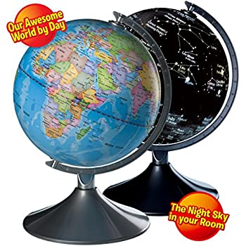 Amazon interactive globe for kids 2 in 1 day view world globe interactive globe for kids 2 in 1 day view world globe and night view gumiabroncs Choice Image