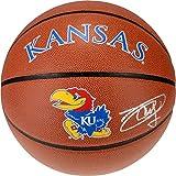 Joel Embiid Kansas Jayhawks Autographed Kansas Logo Indoor/Outdoor Basketball - Fanatics Authentic Certified