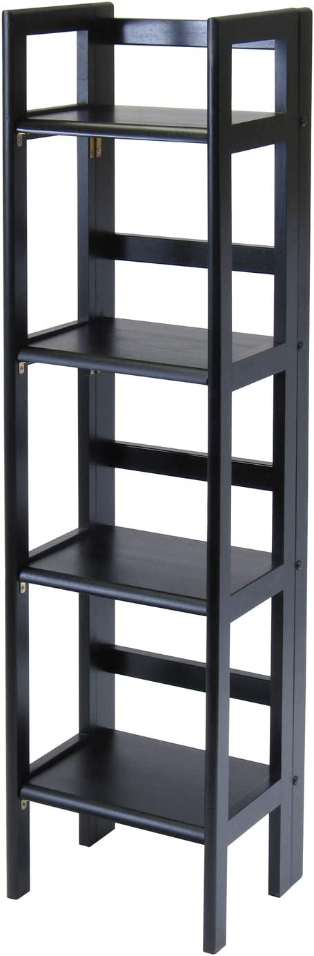 Winsome Wood 20852 Terry Shelving, Black