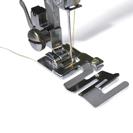 Pie prensatelas profesional y multifunción Youmu, para máquina de coser, para telas, cordón, elásticos, bandas elásticas
