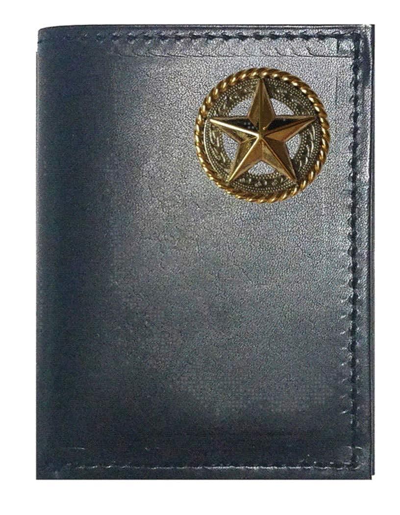 Genuine Texas Brand ACCESSORY メンズ US サイズ: Trifold カラー: ブラック B07H744KQ6