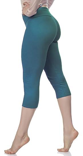 LMB Extra Soft Leggings with High Yoga Waist - Jade OS