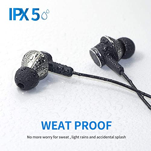 Chilison in-Ear Headphones for iPhone, Magnetic Earbuds HiFi Stereo and Water Resistant MFi Certified Compatible with iPhone 11 11 Pro iPhone X XS XS Max XR iPhone 8 8 Plus 7 7 P