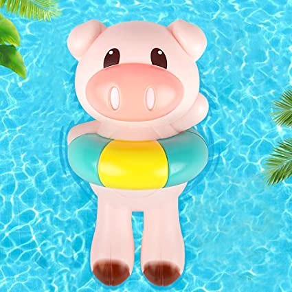 Bathroom Tub Bathing Toy Clockwork Wind UP Plastic Bath Animal Pool For Baby EF