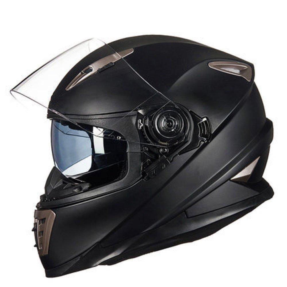 RAQ Sturzhelm im Freienart- und weisehelm ABS-Leichtgewichtler-Motorrad-Fahrrad-Sturzhelm-Sonnenschutzsicherheitsatmungsaktiver vierjahreszeiten-Sturzhelm (Farbe   E, größe   M(54CM-55CM))