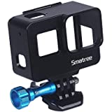 Smatree GoPro Hero7/6/5/Hero2018フレームケース アルミ製保護ケース アクションカメラアクセサリー ブラック (黒)