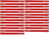 Golf Pride Tour Wrap 2G Golf Grip Bundle (25 Piece), Red