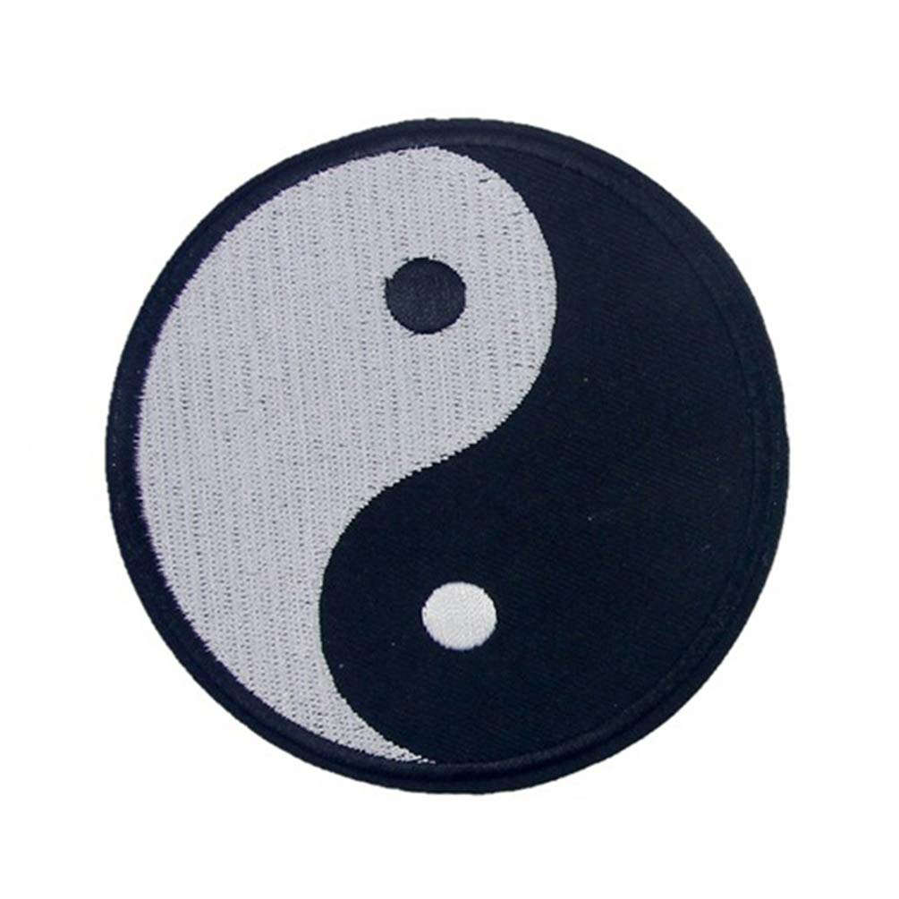 Amazon Floralby Embroidery Chinese Traditional Yin Yang Symbol