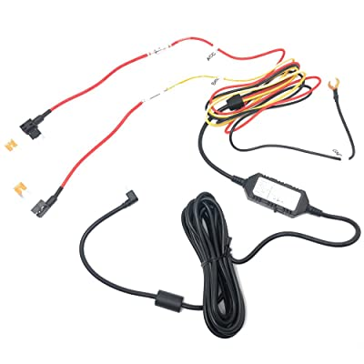 Street Guardian SGDCHW SG9663DCPRO Hardwire Kit with Mini ATO Fuse Taps - Add Parking Mode: Car Electronics