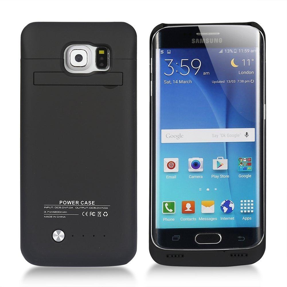 Funda Con Bateria De 4200mah Para Samsung Galaxy S6  Edge
