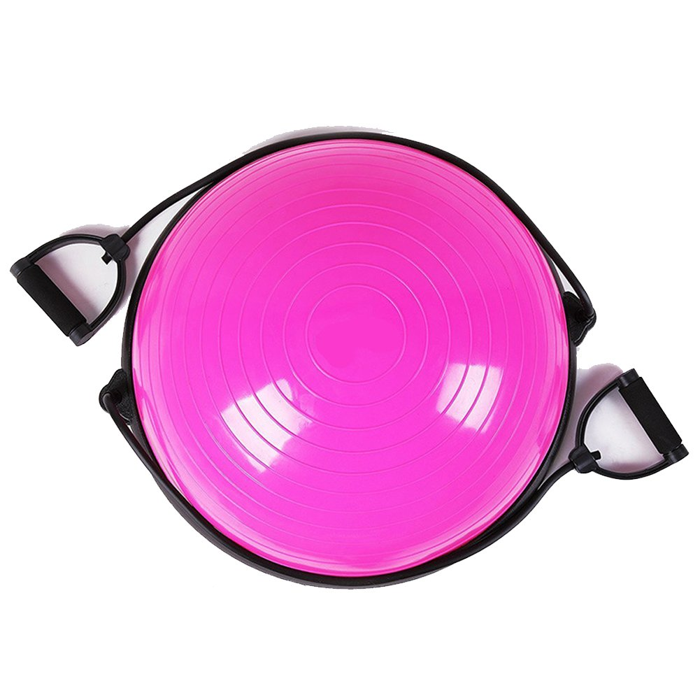 Wave Speed Ball Explosion Bands Drawstring Balanced Hemisphere Semicircle Balance Ball bosu ball yoga fitness semicircular ball