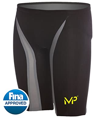 90a2a2b077 Image Unavailable. Image not available for. Color: MP Michael Phelps  Xpresso Jammer Tech Suit Swimsuit ...