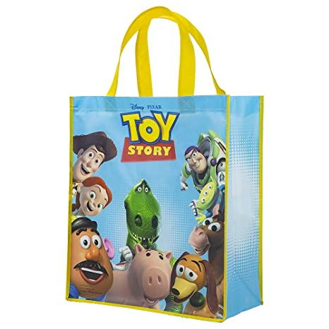 Amazon.com: Disney Pixar Toy Story Reusable Tote Bag ...