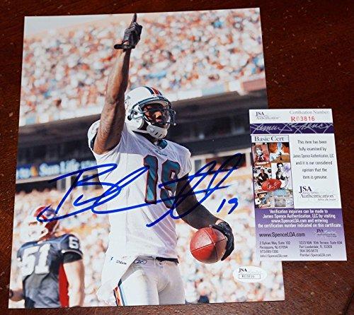 Brandon Marshall Autographed Photograph - 8x10 + COA R03816 - JSA Certified - Autographed NFL Photos