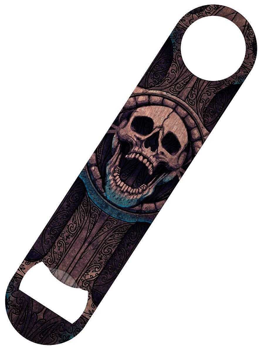 Grindstore Laughing Skull Bar Blade Bottle Opener 18 x 4cm