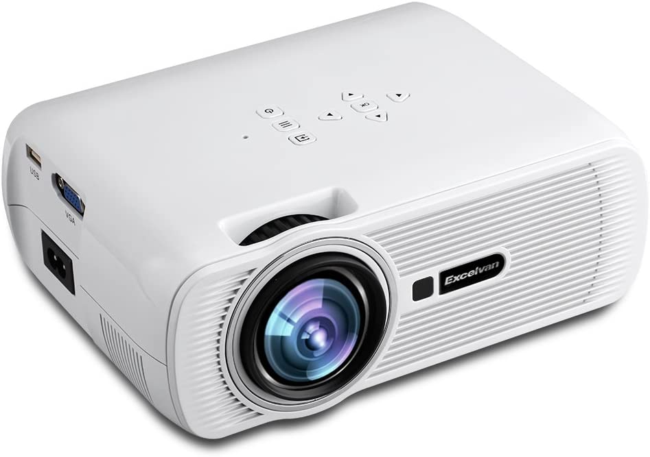 Excelvan EHD01 - Mini Proyector LED Portatil 1080P: Amazon.es ...