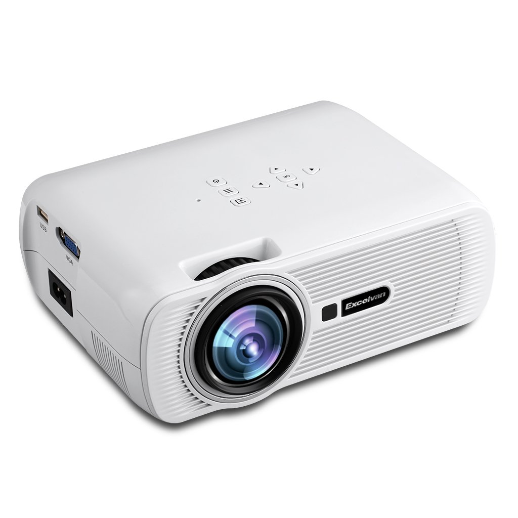 Excelvan EHD01 Mini Proyector Multimedia LED, LCD, 800 X 480 ...