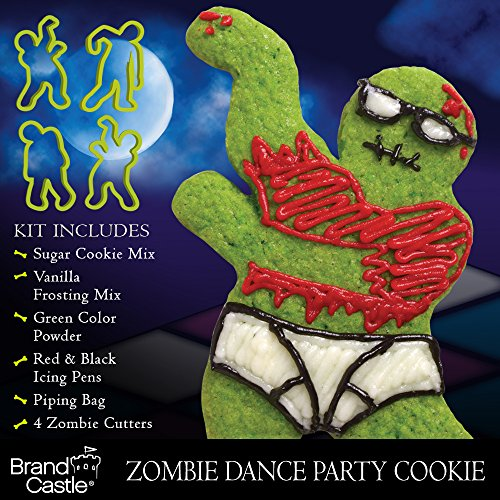 Crafty Cooking Kits Zombie Dance Party Kit, Sugar Cookie, 10.36 Ounce by CRAFTY COOKING KITS (Image #4)