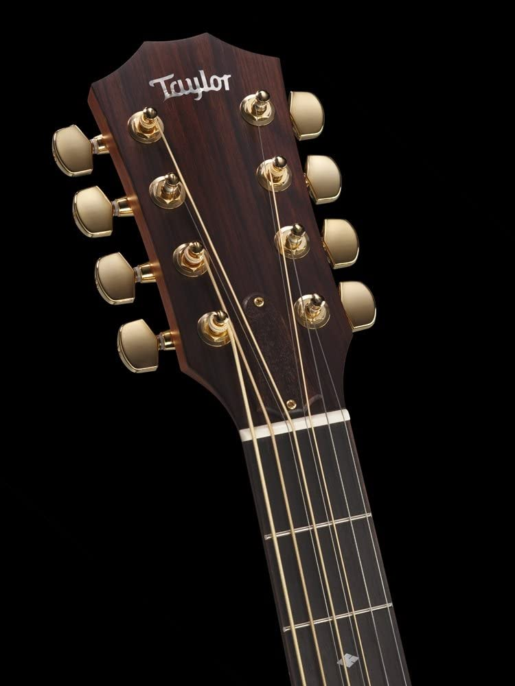 Taylor Guitarra electroacústica folk barítono, 8 cuerdas: Amazon ...