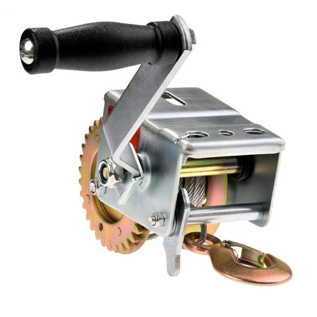 Utheing 600 lbs Hand Winch,Heavy Duty Capacity Winch ATV Boat Trailer by utheing (Image #2)