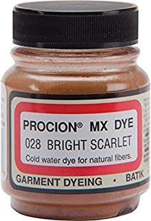 product image for Jacquard Products JAPMX1028 Powdered Dye, Bright Scarlet, 6 Fl Oz