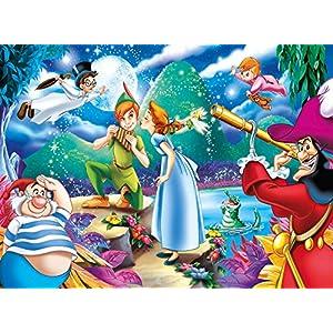 Clementoni Peter Pan Supercolor Puzzle Multicolore 104 Pezzi 27915