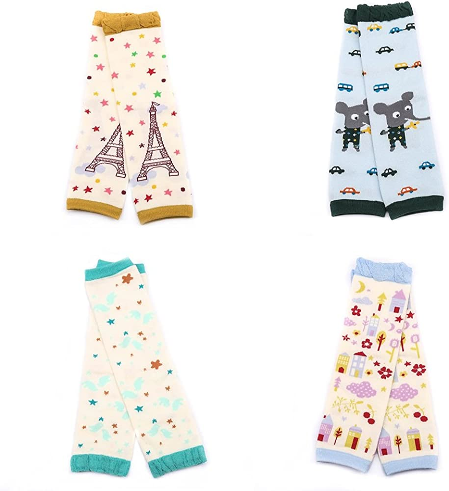 5pair//lot Baby Leg Warmers Cotton Kids Child Girls Boys Leg Warmers Tights Child Knee Socks