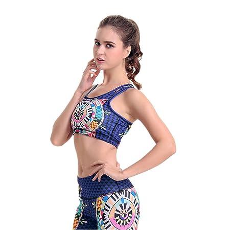 Sujetadores Deportivos para Mujer Sujetador de Yoga Púrpura ...