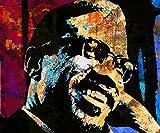 Wall Art Print entitled Malcolm X-2 by Otis Porritt
