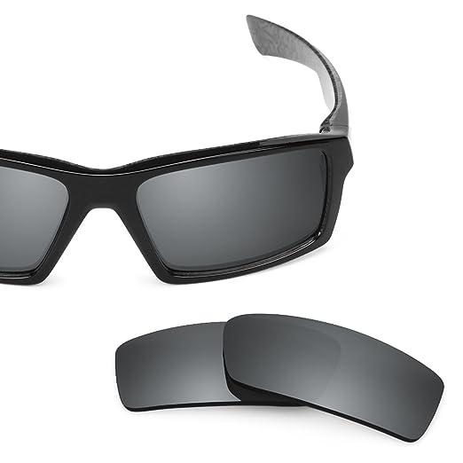 5fb78879cf Revant Polarized Replacement Lenses for Oakley Twitch Elite Black Chrome  MirrorShield