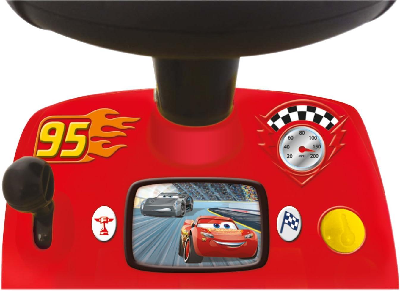 Correpasillos Rayo McQueen Cars Actividades Con Luces y Sonidos 34x56x29cm 1-3 a/ños