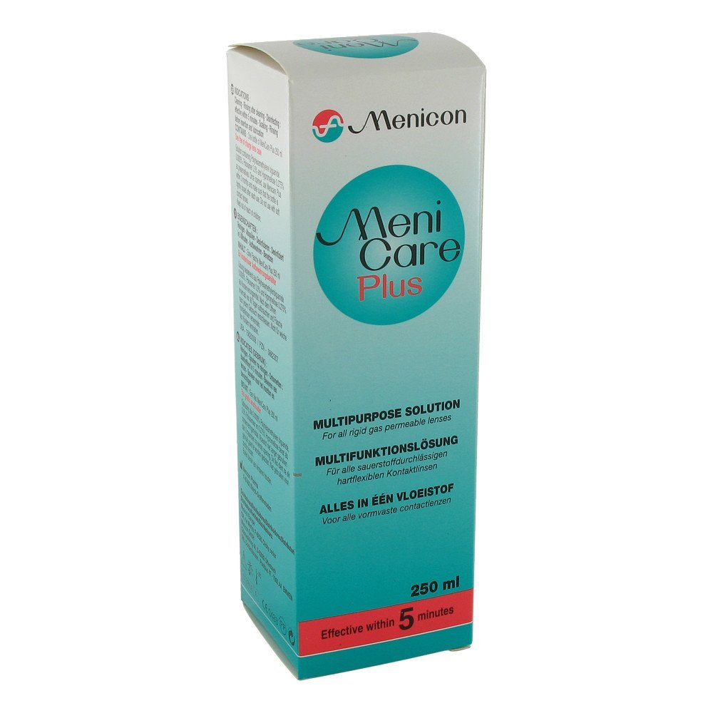 Meni Care Plus Contact Lens Care Product 250 ml Menicon 20183