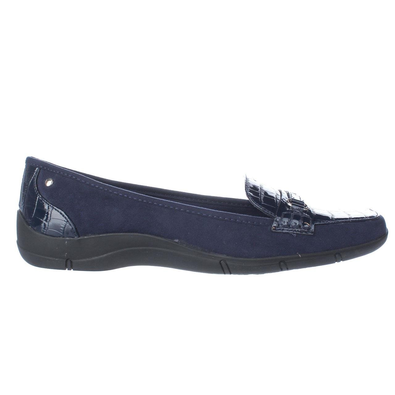 Karen Scott Womens Jazmin Square Toe Loafers