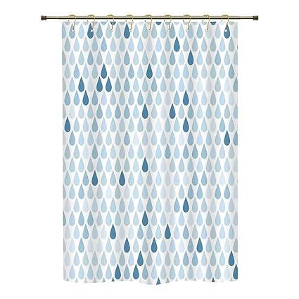 Shower CurtainFarmhouse DecorMinimalist Rain Drops Motive InTones Tears Of Earth Air Gravity