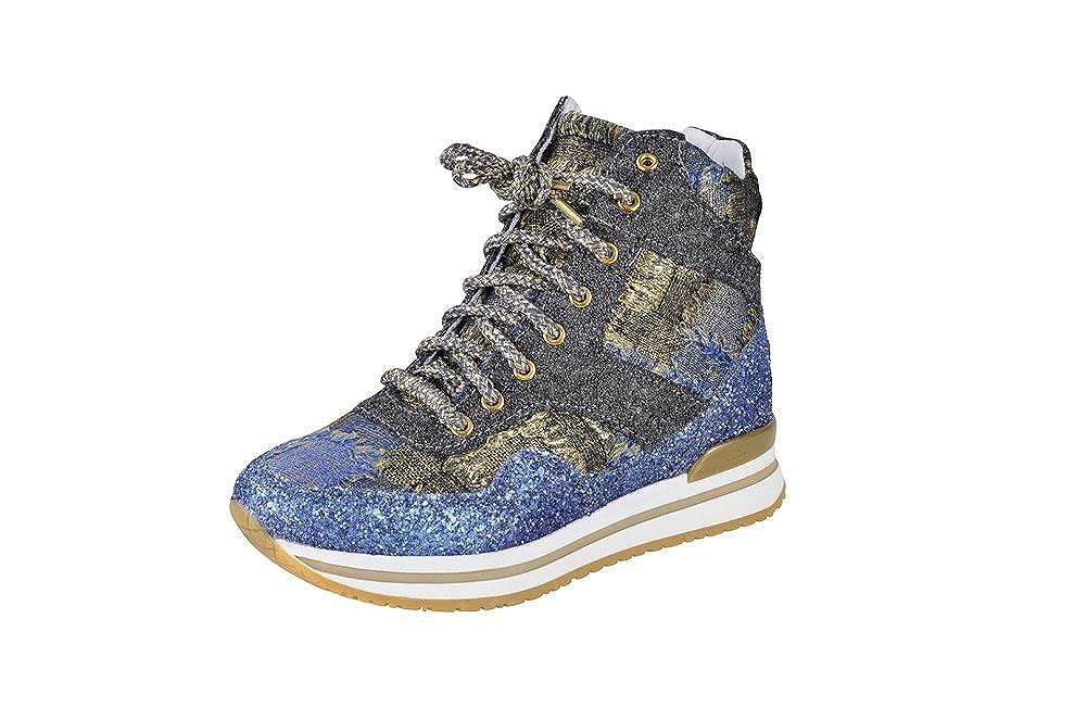 2Star Gold Schuhe Damen Blau Textil Turnschuhe 39