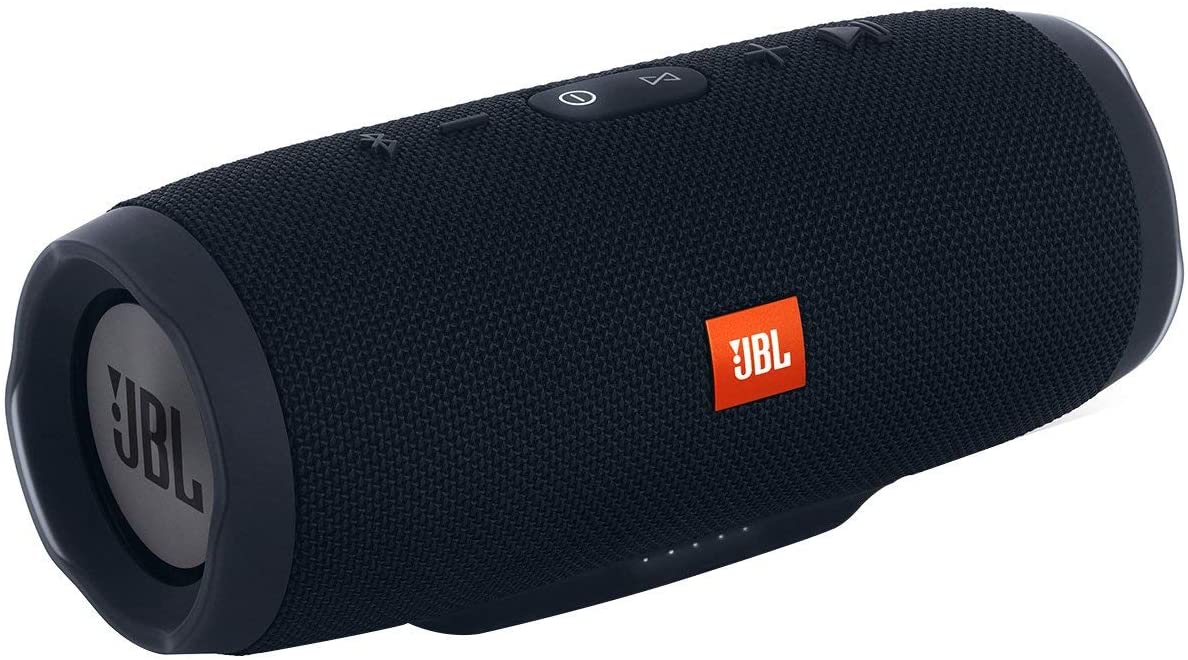 JBL Charge 3 Portable Bluetooth Waterproof Speaker – Black