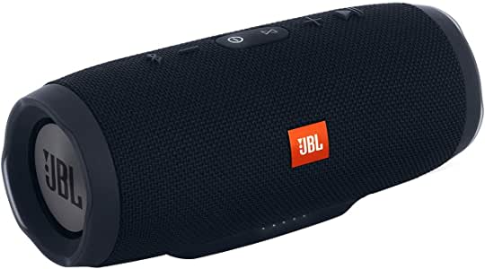 JBL Charge 3 Portable Bluetooth Waterproof Speaker, Black