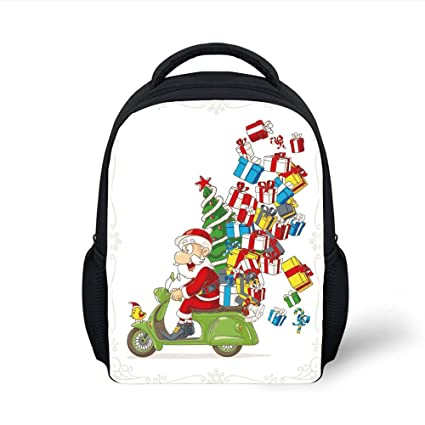 Amazon.com  iPrint Kids School Backpack Christmas 5d795951512af