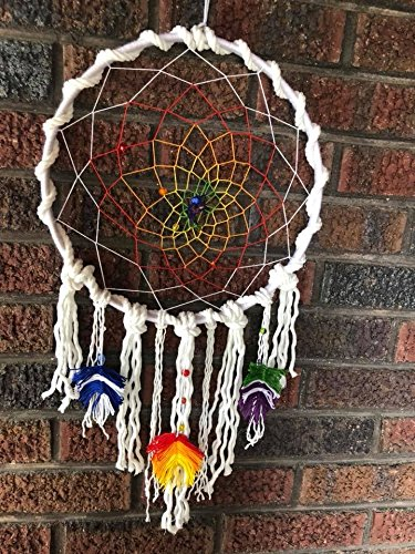 Rainbow Dream Catcher by LiberSoma
