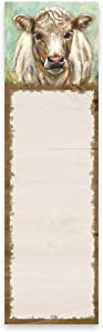 Primitives By Kathy 109181 Cow List Notepad, 9-inch Height