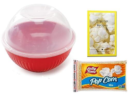 Máquina para hacer palomitas de maíz en microondas con tapa, de ...
