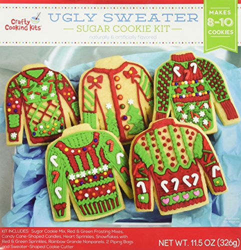 Price comparison product image Ugly Sweater Sugar Cookie Kit Mix w / Cookie Cutters